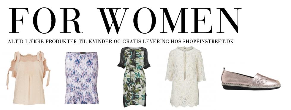 Kvinder modetøj - ShoppinStreet.dk - Gammel Kongevej københavn